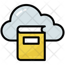Book Cloud Library Icon