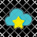 Cloud Bookmark Bookmark Cloud Online Storage Icon