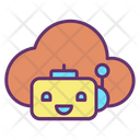 Cloud Bot Icon