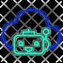 Cloud Bot Icon
