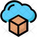 Cloud Box Icon