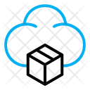 Box Package Cloud Icon