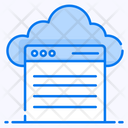 Cloud Browser Cloud Technology Cloud Storage Icon