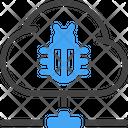 Cloud Bug Icon