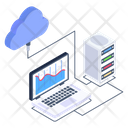 Cloud Business Infographic Icon