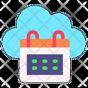 Cloud Calendar Icon