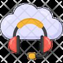 Cloud Helpline Cloud Call Center Cloud Services Icon