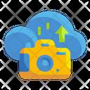 Cloud Camera Cloud Storage Cloud Image Icon