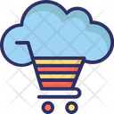 Cloud Cart Icon