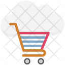 Cloud Cart Icon