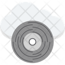 Cloud Cd Icon