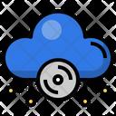 Cloud Cd Compact Disc Cd Icon