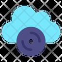 Cloud Cd Icon