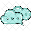 Cloud Chat Icon