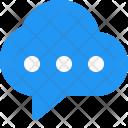 Cloud chatting Icon