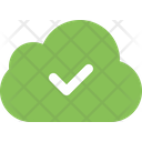 Cloud Check Check Cloud Icon