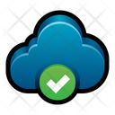 Cloud Check Cloud Check Icon
