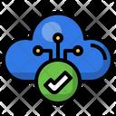 Cloud Checkmark Checkmark Verified Icon