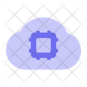 Cloud Chip Ai Icon