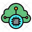 Cloud Chip Icon