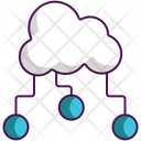 Cloud Circuit Icon