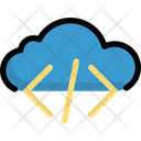 Cloud coding Icon
