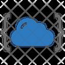 Seo Brackets Cloud Icon