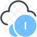 Cryptocurrency Cloud Icon