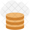 Cloud Coins Icon