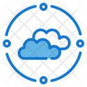 Cloud Commputing Marketing Seo Icon