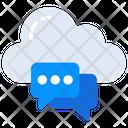 Cloud Communication Icon