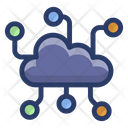 Cloud Communication Network Cloud Network Cloud Computing Icon