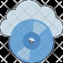 Cloud Computing Compact Icon