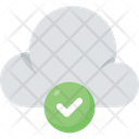Cloud Computing Approved Complete Icon