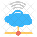 Wifi Cloud Connection Icon