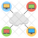 Cloud Computing Internet Icon