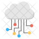 Cloud Computing Circuit Icon