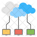 Cloud Computing Connection Icon