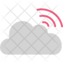 Cloud Computing Cloud Waves Communication Icon