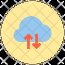 Cloud Computing Data Storage Storage Icon