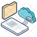 Cloud Networking Cloud Computing Cloud Technology Icon