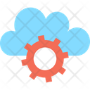 Cloud Computing Cloud Maintenance Cloud Settings Icon