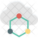 Cloud Computing Cloud Network Cloud Sharing Icon