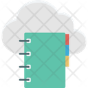 Cloud Computing Cloud Dairy Diary Icon