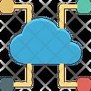 Cloud Computing Cloud Network Cyberspace Icon