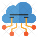 Cloud Computing Cloud Connection Online Data Storage Icon