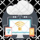 Rss Wifi Cloud Icon