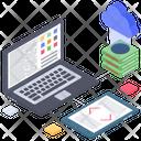 Cloud Computing Cloud Technology Cloud App Development Icon