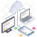 Cloud Computing Cloud Technology Cloud Services Icon