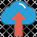Cloud Upload Finance Icon
